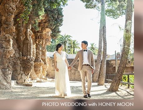 新婚旅行のついでにフォトウェディングを撮影コスチュームプラン