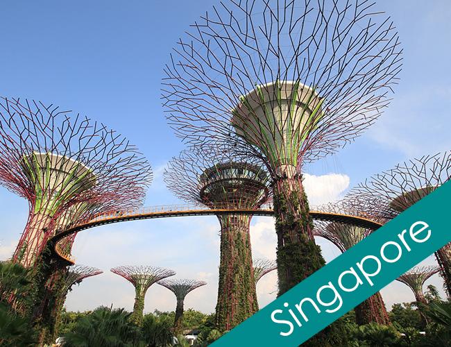 シンガポールでフォトウェディング 前撮り