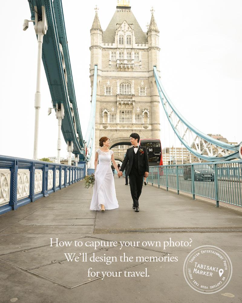 新婚旅行で前撮りをかねたカップルフォトを残しませんか