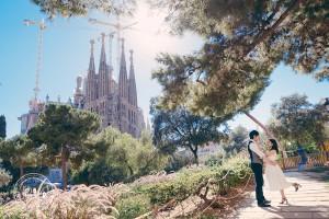 バルセロナ フォトウェディング2